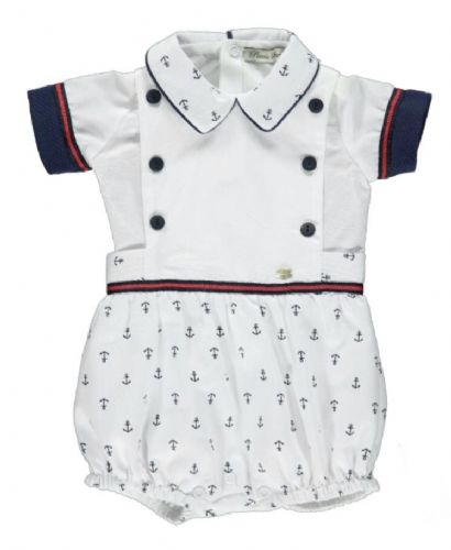 Piccola Speranza Boys Sailor Shortie